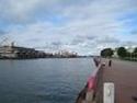 Parti fra Ventspils havn/A view of Ventspils harbour