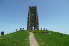 Glastonbury Tor with St Michaelʹs Tower