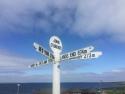 Signpost at John oʹ Groats
