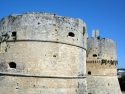 Detail of Otranto castle