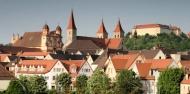 Schönenbergkirche, Evangelische Stadtkirche, Stiftskirche und Schloss in Ellwangen