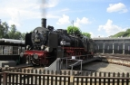 Eisenbahnmuseum Bochum-Dahlhausen, Drehscheibe