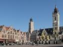 Dendermonde, town hall on de Grote Markt
