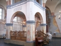 Interior of the Great Synagogue in Tykocin