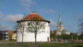 Frederikshavn, Krudttårnet and Frederikshavn Kirke
