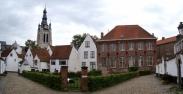 Begijnhof, Béguinage in Kortrijk