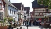Mosbach, Fachwerk in der Altstadt