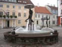 Tartu, fountain ʺKissing Studentsʺ