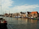 Harlingen remains a typical harbour town