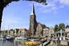 Harlingen, Zuiderhaven and Sint-Michaelkerk