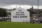 Free Derry Corner, Bogside, Derry