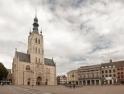 Onze-Lieve-Vrouw-ten-Poelkerk and Town Hall in Tienen