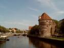 Zwolle, Thorbeckegracht and Wijndragerstoren