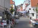 Aabenraa, pedestrian street Storegade (Strøget)