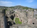 Conwy Castle from one of the towers