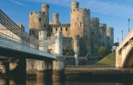 Conwy Castle - bridge view