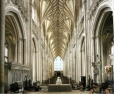 Nave of Winchester Cathedral