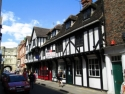 High Petergate with Bootham Bar, York