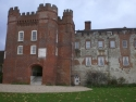 Facade of Bishopʹs Palace, Farnham Castle
