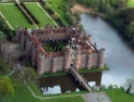 Aerial View of Herstmonceux Castle