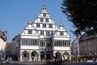 Das historische Rathaus von Paderborn