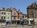 Auxerre, in the historic center