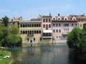 Sacile, Palaces on Livenza river