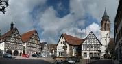 Dornstetten, market square
