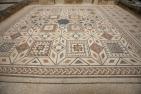 Clunia, alte römische Mosaike