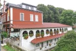 Orsoyer Hof Hotel-Restaurant von Norden aus