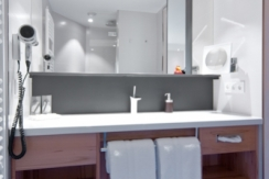 Badezimmer im Superior Doppelzimmer