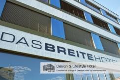Aussenansicht Design & Lifestyle Hotel direkt an den Fahrradrouten