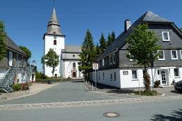 Kirchplatz in Winterberg