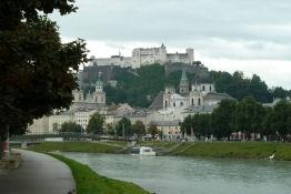Rückblick auf Salzburg und den Obersalzberg