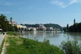 Passau liegt vor uns