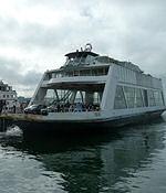 Fährschiff in Friedrichshafen