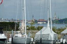 Blick von Kreuzlingen auf Konstanz