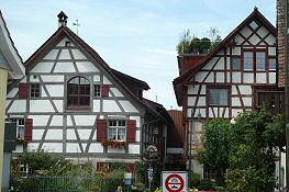 Fachwerkhäuser in Gottlieben