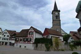 An der Kirche in Steckborn