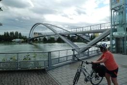 Dreiländerbrücke in Weil a. Rhein