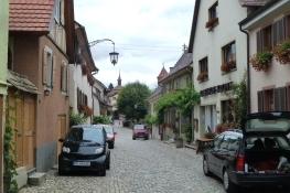 Burkheim, Mittelstadt Richtung Rotweiler Tor