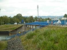 Überqueren des Rheinseitenkanals bei Gerstheim