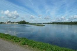 Rheinradweg bei Greffern
