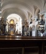 Rastatt, Stadtkirche St.-Alexander, Innenraum