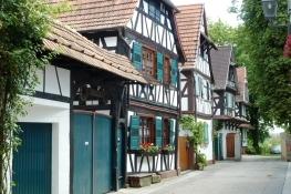 Fachwerkhäuser im Jockgrimer Hinterstädtel