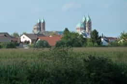Anfahrt auf Speyer