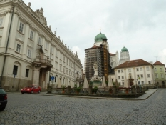 Passau Residenzplatz und Dom