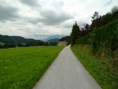 Ehem. Bahnstrecke nach Salzburg