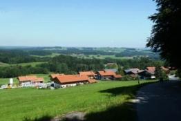 hinter Niklasreuth<br />fast oben angekommen