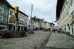 Marktstraße in Tölz